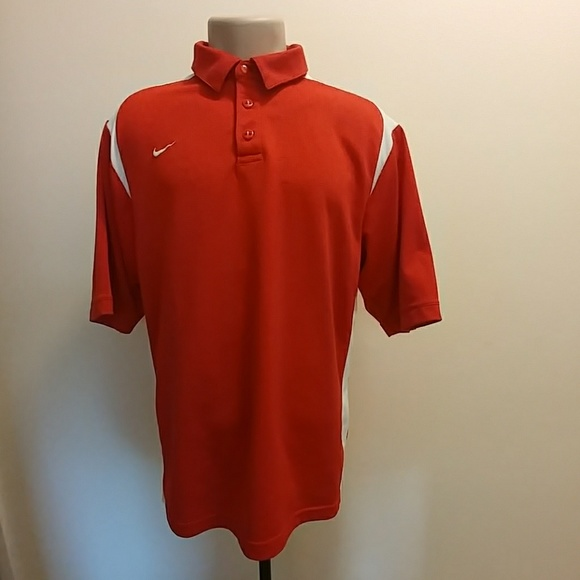 f003f231 Nike Shirts | Dri Fit Gameday Polo Mens Size Medium | Poshmark